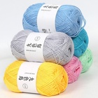 NEW Soft Pure Bamboo Cotton Yarn Wool Crochet for Hand Knitting DIY Sweater Blanket Scarf 36 Colors Fashion baby wool yarn