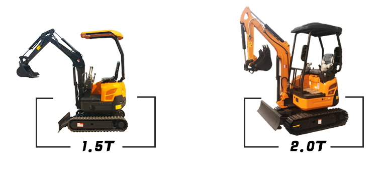 0.8 Ton China Made Digger Mini Excavator For Sale