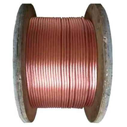 China Top quality hard drawn bare copper ground cable 16mm