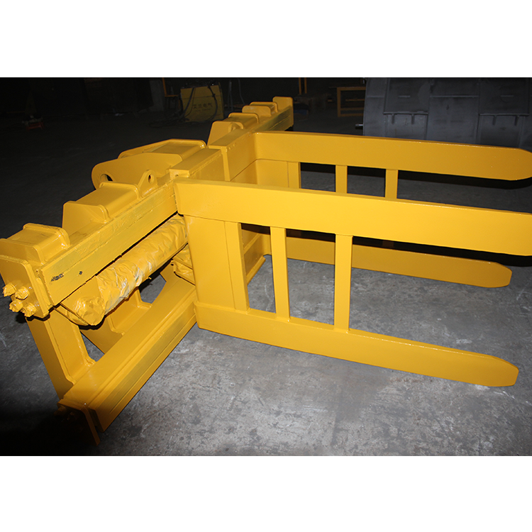 Professional Technology Manufacture Reliable Wheeled Bale Clamp