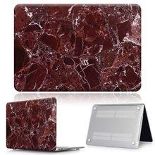 Мраморный Жесткий Чехол для ноутбука + кожа клавиатуры для Apple MacBook Air Pro Retina 11 12 13 15 & New Air 13 /Pro 13 15 Touch Bar(Китай)