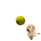 squeaky wholesale manufacturer custom logo thrower pet chew toys dog tennis ball