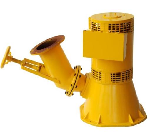 שיפוע jet טורבינת גנרטור קטן הידרו כוח מים טורבינת