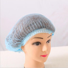 Nurse Factory Wholesale Non-woven Surgical Nurse Cap Mob Cap Clip Cap