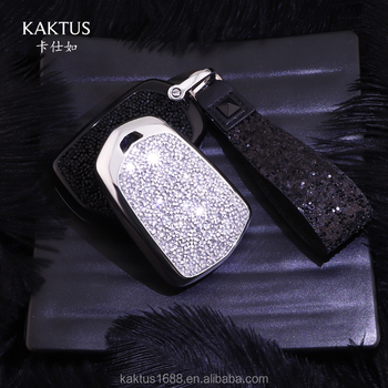 For Cadillac car key shell ATS-L XT5 CT6 XTS CTS ATS XT4 Car Key Case PC Diamond Crystalprotect Cover