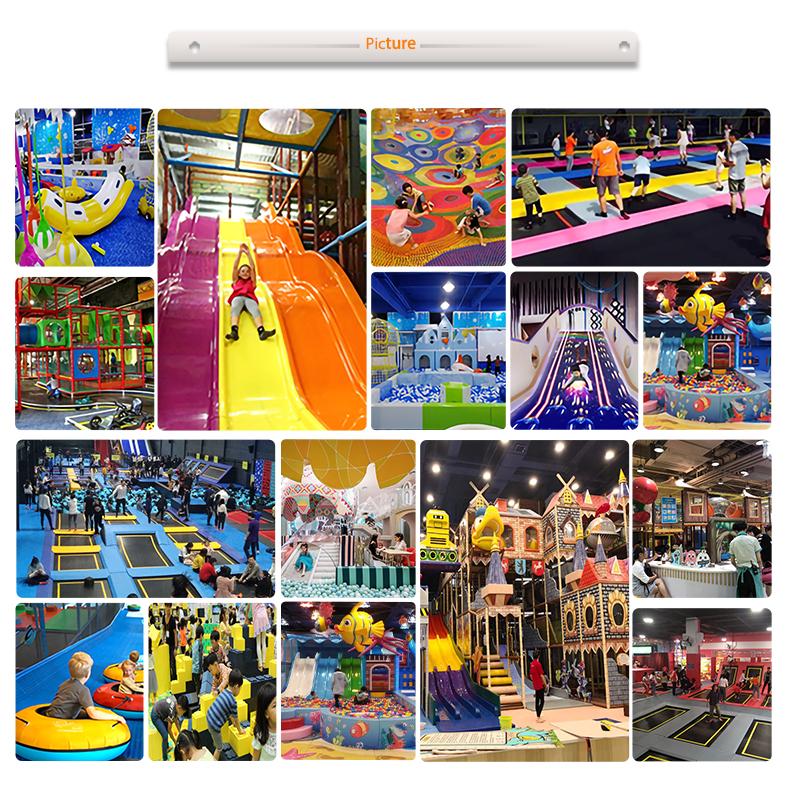 Permainan Dalam Ruangan Lembut Area Bermain Keselamatan Warna-warni Anak-anak Nakal Indoor Playground