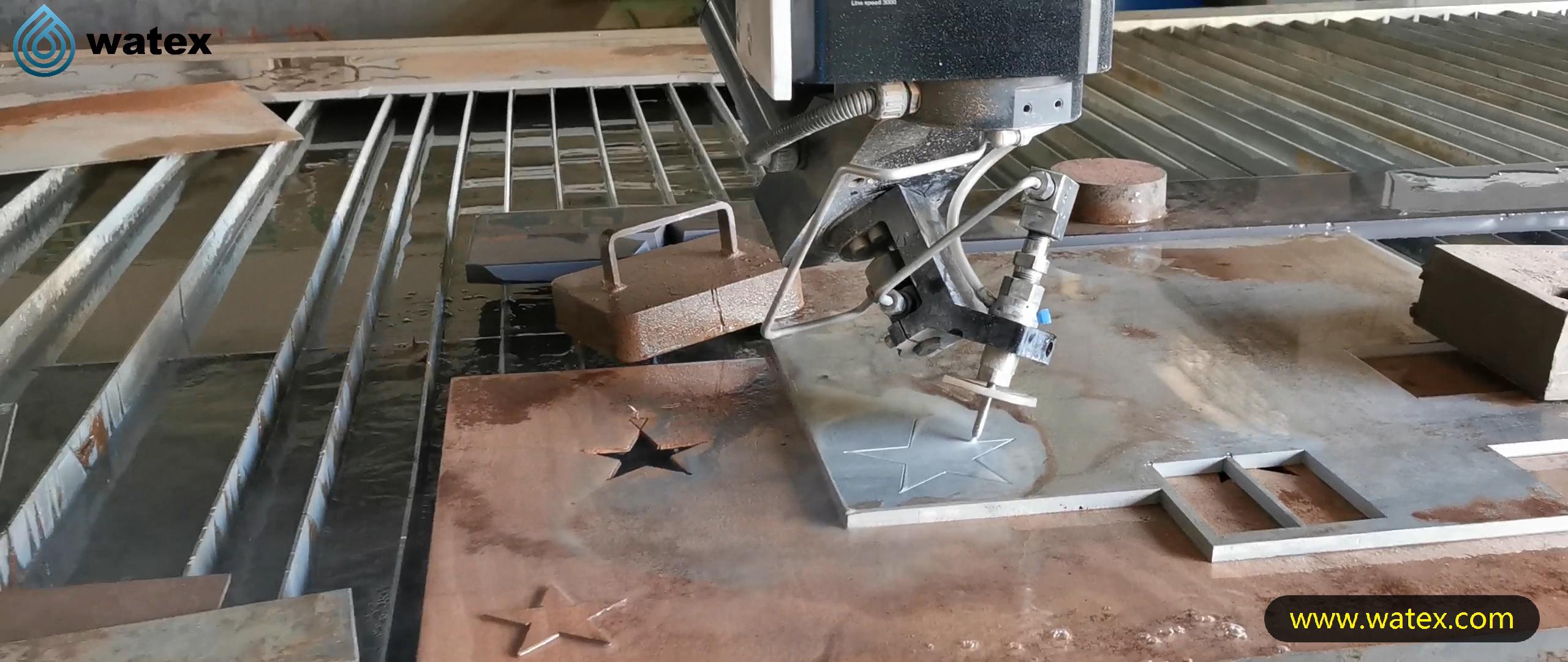 מכונת חיתוך waterjet, מכונת חיתוך גרניט סילון מים, גרניט מכונת חיתוך סילון מים 5 ציר 3D עם CE TUV ISO9001