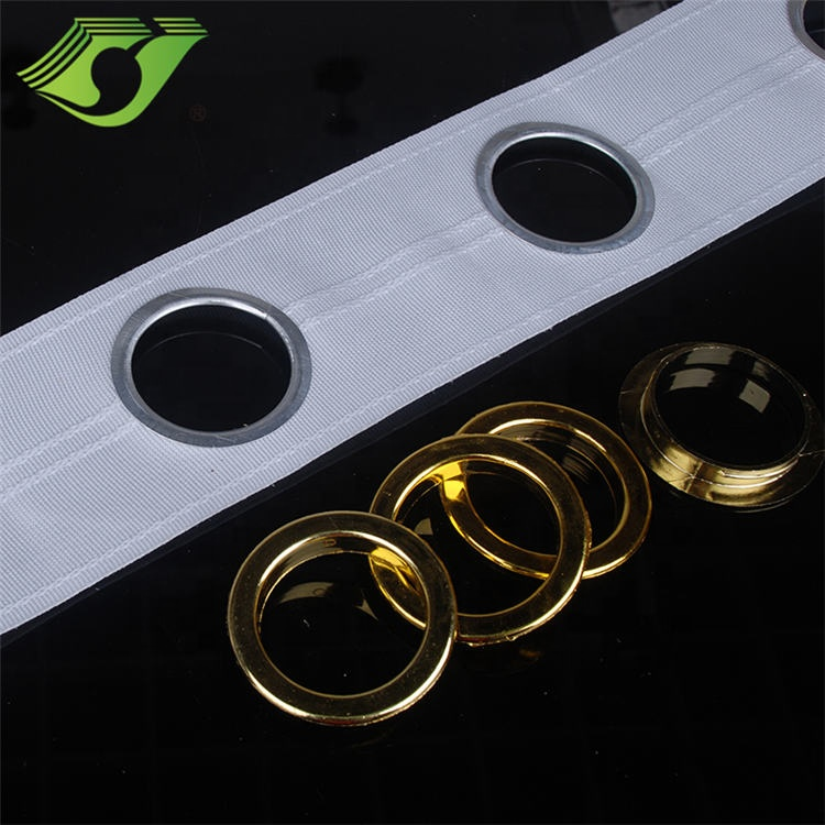 Stardeco Polyester woven white drapery curtain tape And Accessories With Holes, Curtain Belt, Eyelet Curtain Tap