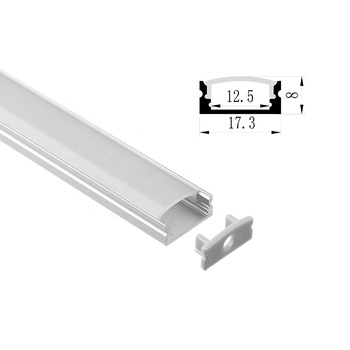 Newest Hot Trimless U Shape Flat Aluminium Profile for LED Strips