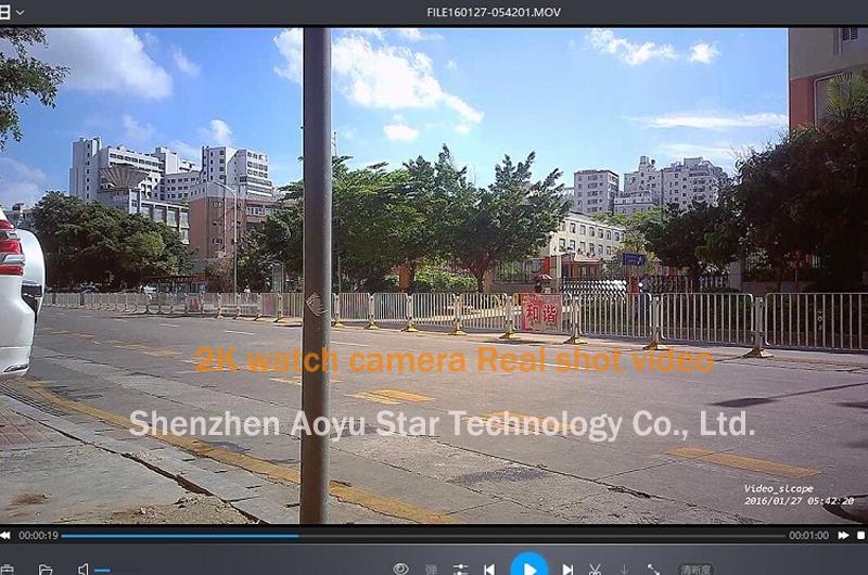 HD casus kameralı kol saati 2K 1296P destek kartı 128gb gizli kablosuz kamera izle iğne deliği kamera hd mini gizli kamera izle