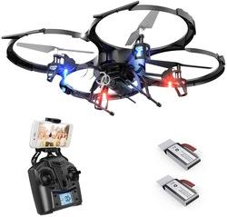 शक्तिशाली Brushless मोटर गबन जाओ प्रो कैमरा ड्रोन 18-20 मिनट लंबे समय तक काम समय के profesionales