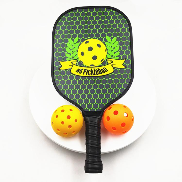 OEM Manufacturer customized graphite pickleball paddle bat Cheap high-quality carbon fiber usapa pickleball paddle racket