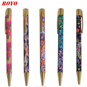 2020 Hot Sale Personalized Heat Transfer Printing Custom Pattern Ballpoint Pens Printing Barrel Pen For Promotional Advertising