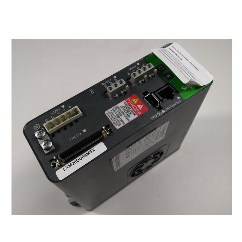 New original LXM26DU04M3X motion servo drive - Lexium 26 - single and three phase 200...230 <strong>V</strong> - 400 W