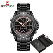 Relogio Masculino NAVIFORCE роскошные часы для мужчин s водонепроницаемые аналоговые цифровые спортивные военные кварцевые наручные часы для мужчин ча...(China)