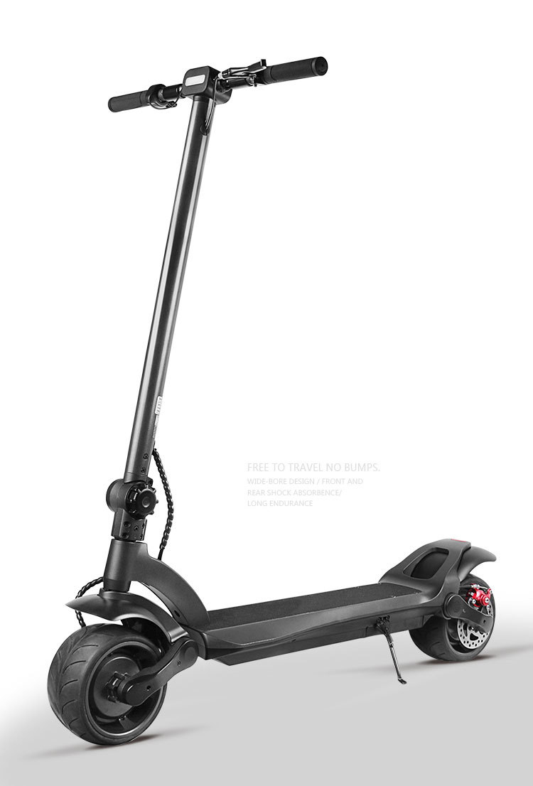 2020 New Version YIDE 1000W 13.2Ah Wide Wheel Electric Scooter