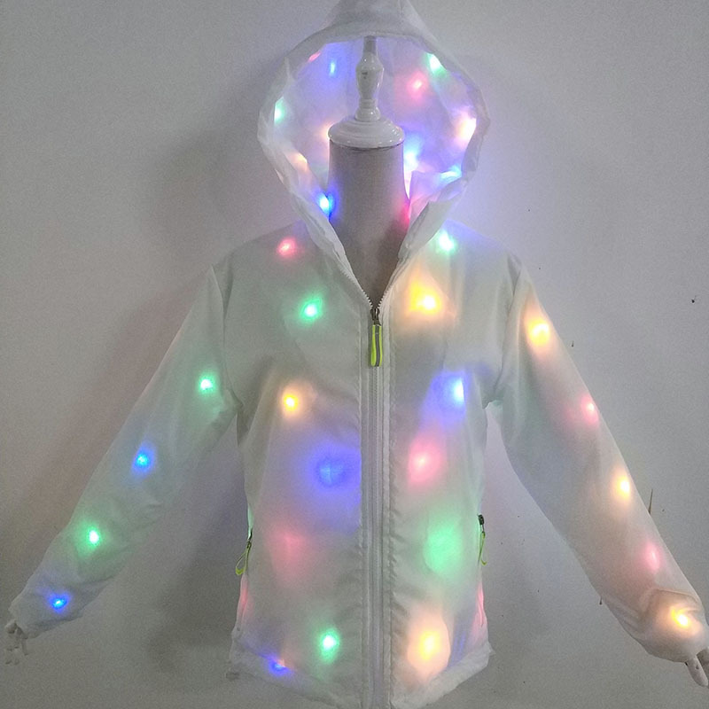 Spring and Autumn Night Light Dance Clothes, Bar Night Line Night Light Coat