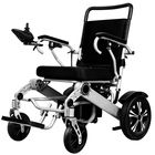 Best Foldable Lightweight Handicap Electric Power Wheelchair for Disabled and Elderly