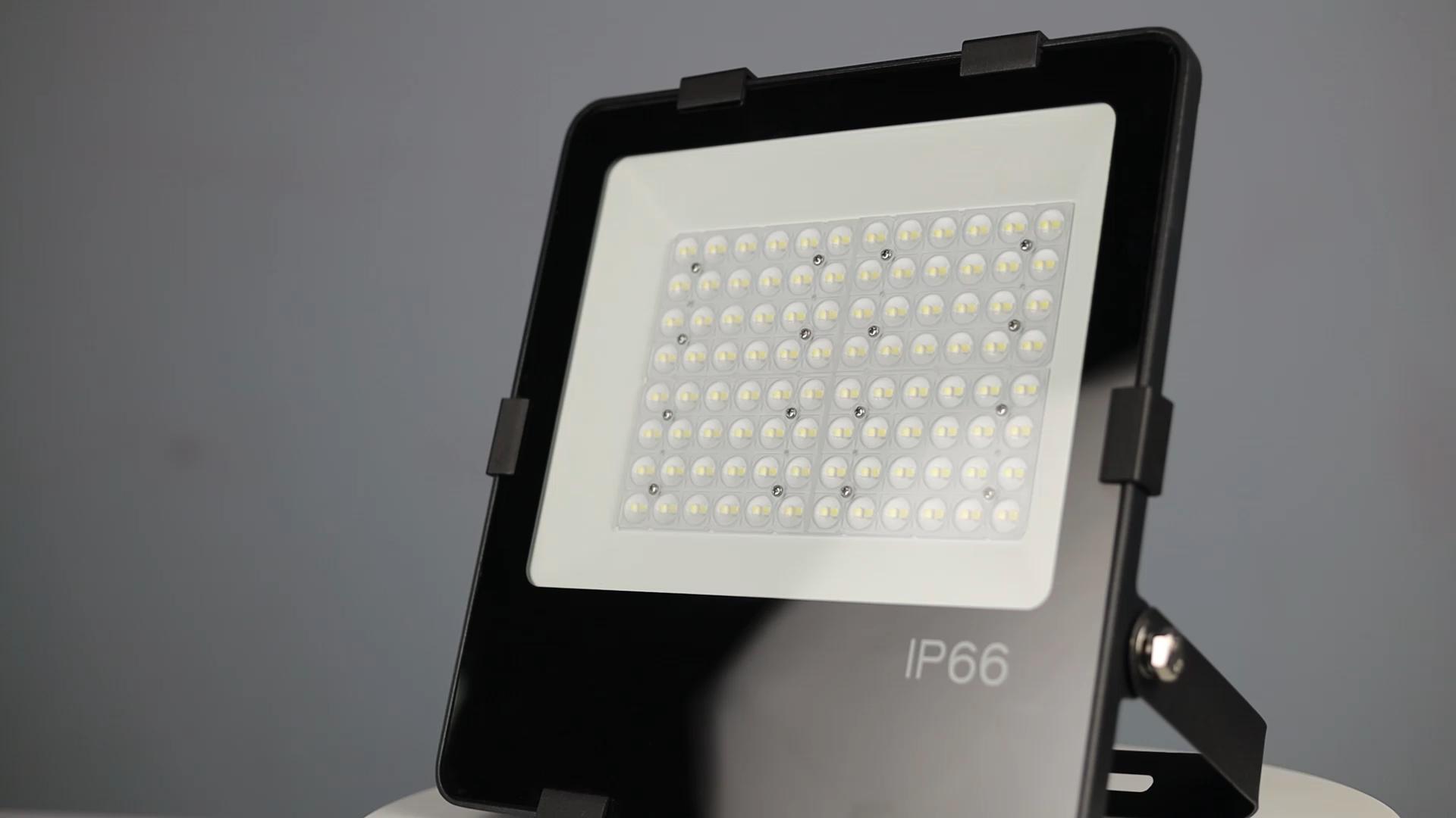 5 лет гарантии IP66 30 Вт 50 Вт 100 Вт 150 Вт 200 Вт СИД прожекторное освещение для различных на открытом воздухе использование