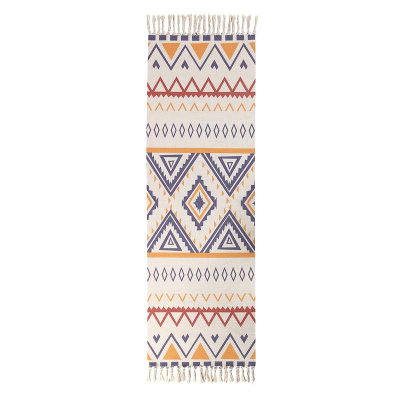 Karpet Broadloom Motif Bunga Minimalis Modern, Tikar Kamar Mandi Dapur Anti Tergelincir