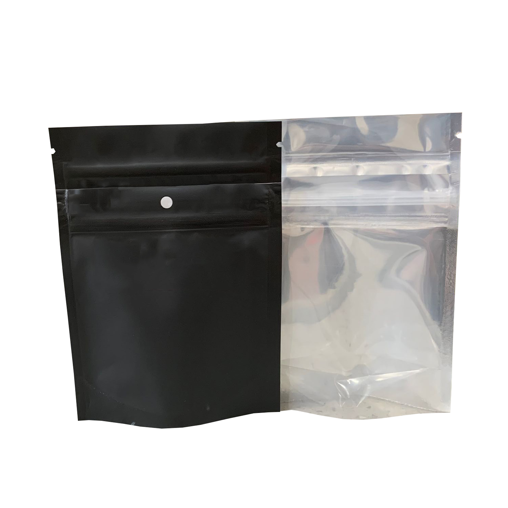 1/8 unzen Tasche Kind Beständig Individuell Bedruckte Einer Seite Klar Aluminium Folie Taschen Zipper Mylar Verpackung Tasche/Aufkleber für händler