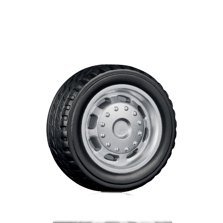 Best Sale 18Mm Customizable Plastic Painted Toy Wheel solid small rubber omni wheels direct drive alloy car wheels for robots