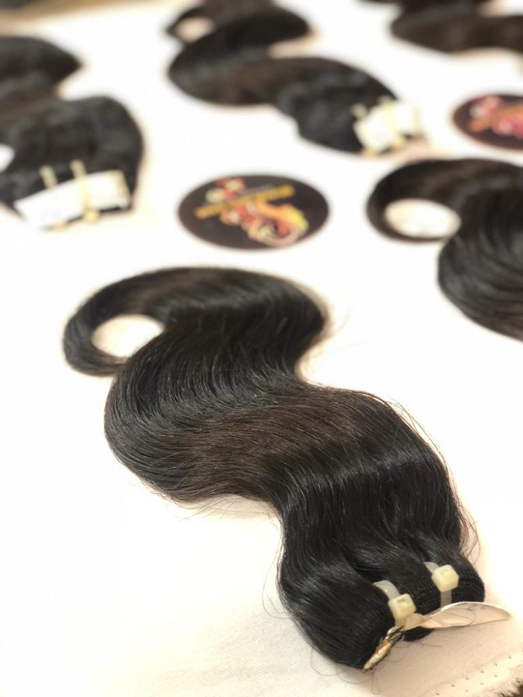 Wholesale cheap body wave 100% virgin Vietnamese hair,human hair full cuticle aligned no tangle no shedding