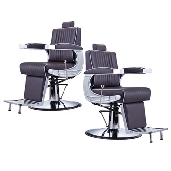 modern swivel styling hydraulic pump barber beauty reclining salon chair for lady