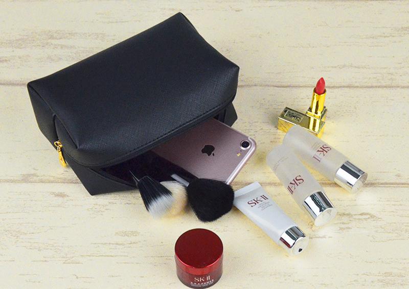 럭셔리 사용자 정의 메이크업 브러쉬 케이스 여행 PU 화장품 가방