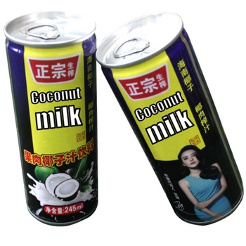coconut water China original coconut milk famous coconut milk brands