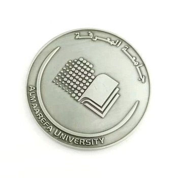 Supply embossed 3D metal custom challenge coin