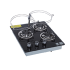 Gas Burner Cooktops 3 Burnersgas High Quality Gas Hob 3 Big Burner Gas Stove Outdoor Gas Stove Rv Cooktops