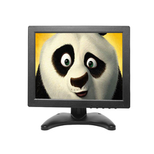 HD Monitor 10 polegadas TFT LCD Display Tela Quadrada Computador CCTV PC