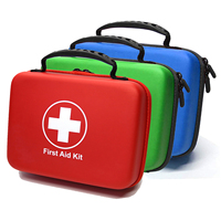 Medical Equipment Mini First Aid Kit for Car EVA First Aid Kit Box travel (Certification Approved)