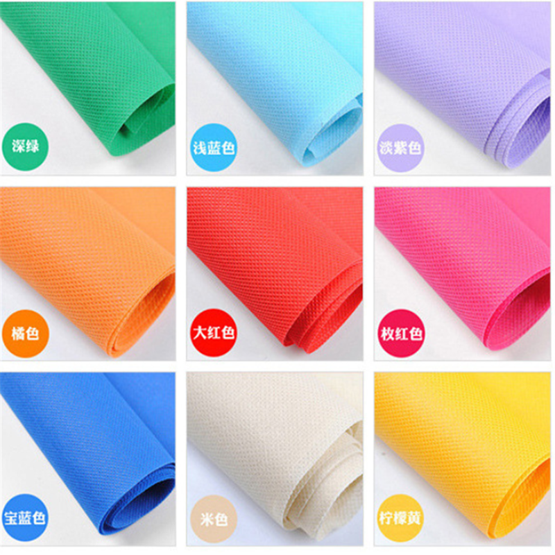 100% Pp/Polypropylene Spunbond Non-Woven Fabric, Material Pp Nonwoven/Non Woven Fabric In Rolls For Bag Making