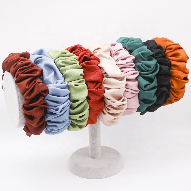Custom <strong>Hair</strong> Wrap Hairbands Colorful Running Bandeau Head Bands For Women <strong>Hair</strong> <strong>Accessories</strong>