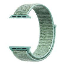 Мужской и женский ремешок 38 мм 42 мм 40 мм 44 мм для apple watch series 2 3 4 5 тканый нейлоновый ремешок для iWatch 4 цветной браслет с узором(China)