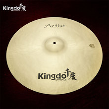 KINGDO <span class=keywords><strong>B20</strong></span> Profissional Drum Set Passeio Cymbals 20""