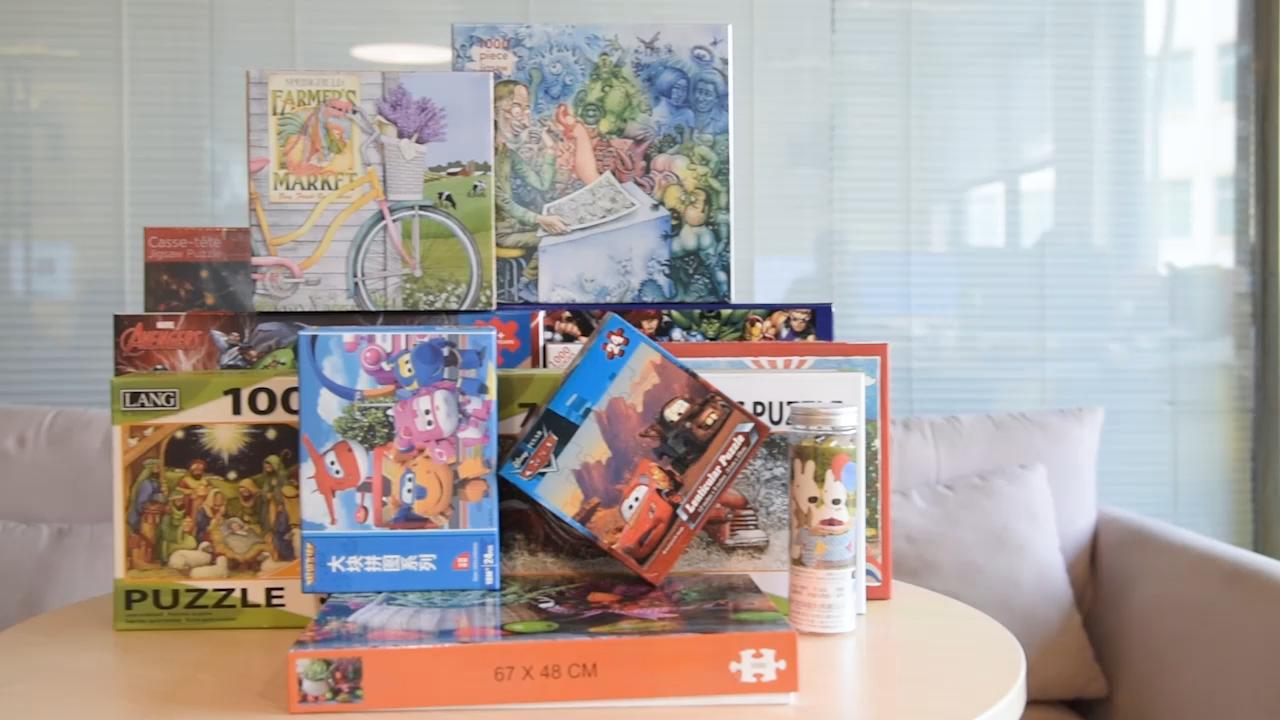 Groothandel 500 Stuks Custom Puzzel Blanco Puzzel Board Voor Kinderen