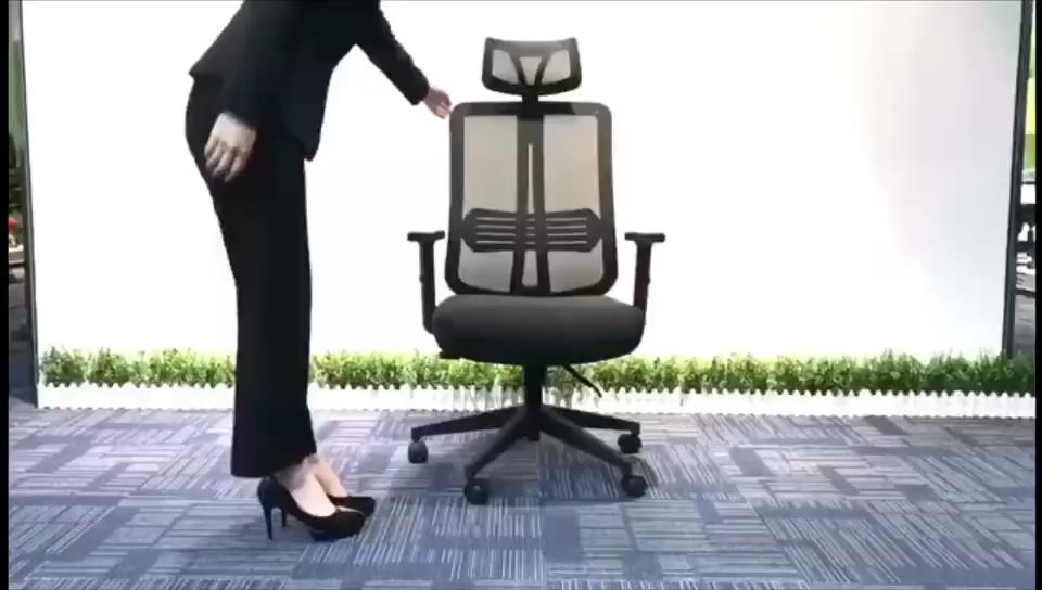 ที่ดีที่สุดหมุน executive คอมพิวเตอร์เก้าอี้ทั้งหมด ergonomic ตาข่ายสำนักงานเก้าอี้พนักพิงศีรษะ