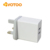 High quality 5v3a UK plug multi ports home travel usb wall charger