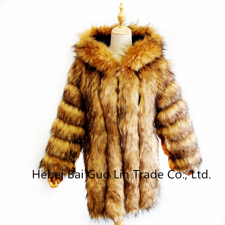 2020 New Winter Women Fox Fur Coat Women Short Jacket Winter Coats Faux Fox Fur Coat