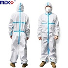 Overall Coverall Coverall Factory Medical Disposable Overall Protect 1422A Coverall