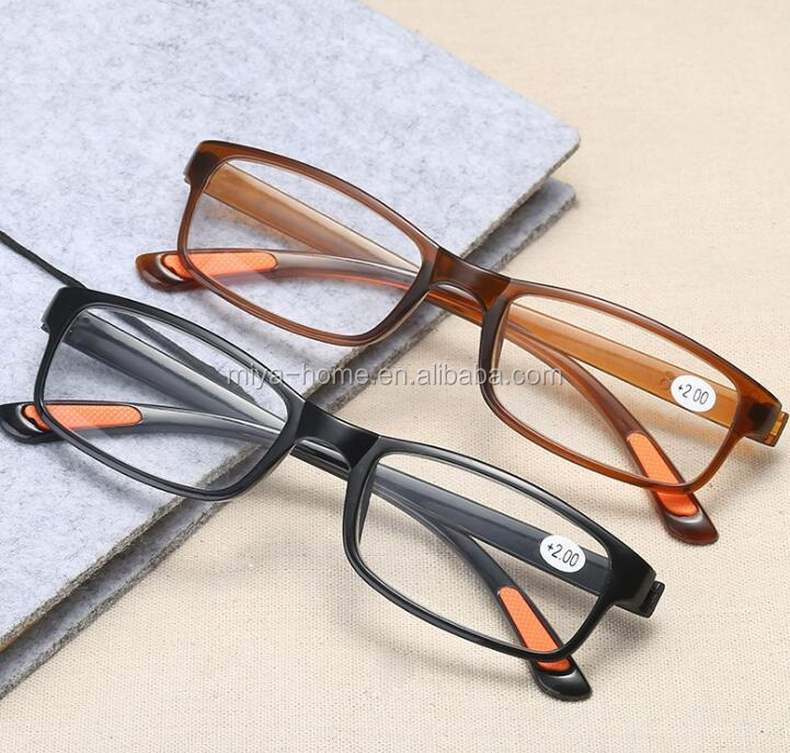 HD resin non-slip old eyewear glasses / Ultra-light reading glasses / optimum optical presbyopic