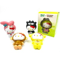 Promotional OEM cheap plastic toys cute cartoon cat Hello Kitty dolls