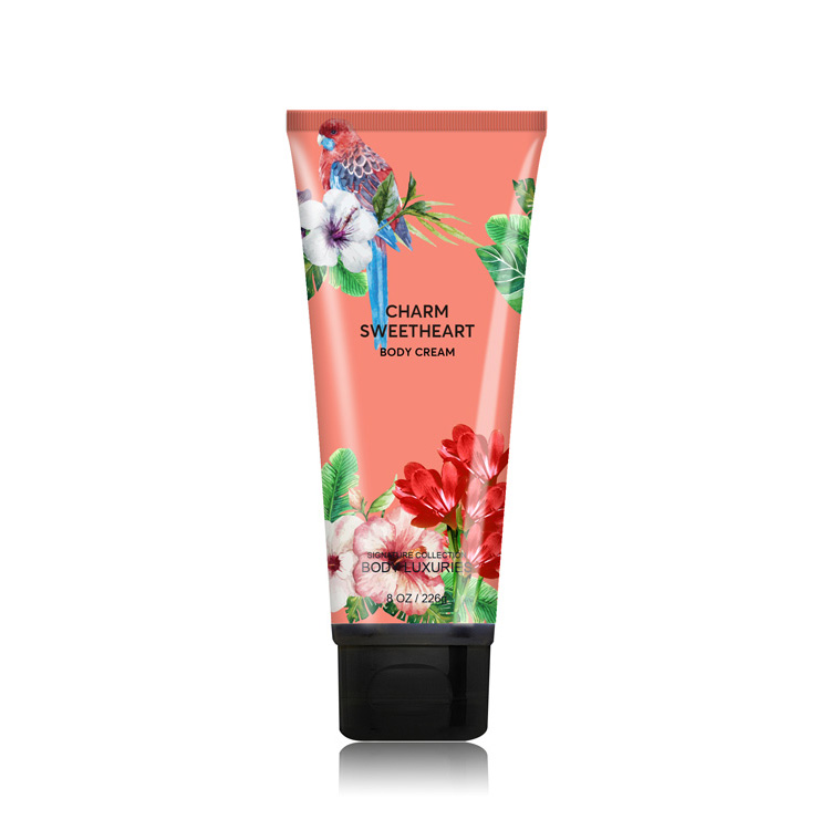 Soft flower baby milk shining skin whitening lotion body cream