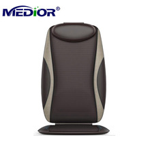 Shiatsu Massage Cushion with Heat Massage Chair Pad Kneading Back Massager for Home Office Seat use