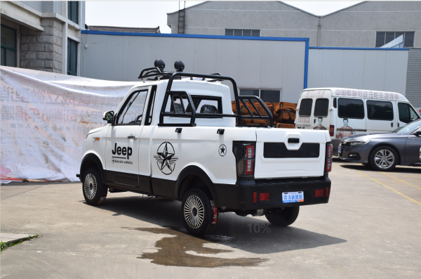 changli Four wheel pick-up truck High speed electric pickup truck to transport goods electric four-wheeler
