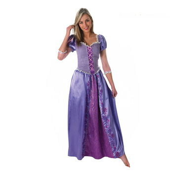 Beautiful sleeping beauty princess dress for adult long dress party princess costume