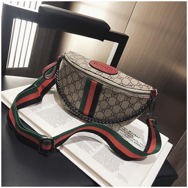 wholesale Old printed Fanny pack pillow mini casual chest bag Waist Bag shoulder bag